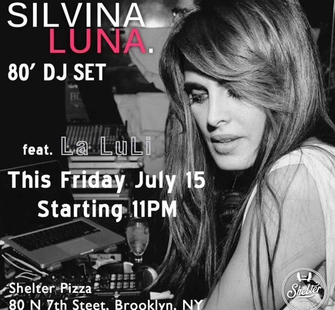 SILVINA LUNA DJ EN NUEVA YORK