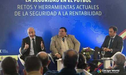 LaLiga mostró en Uruguay el sistema de seguridad utilizado en los estadios españoles