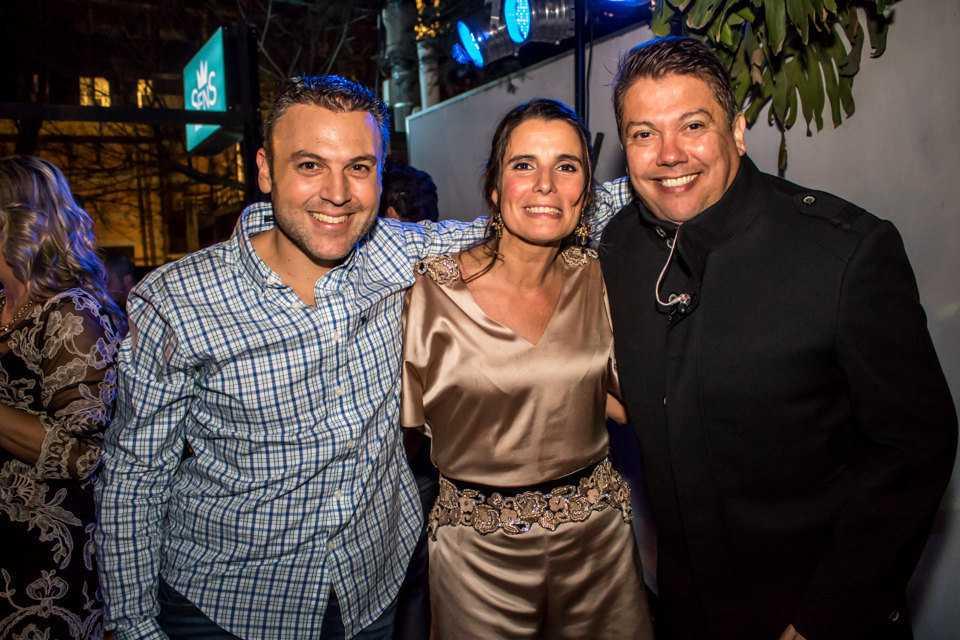 La abogada Verónica Vanrell festejó su cumpleaños en Sens Eventos con la presencia de destacados invitados