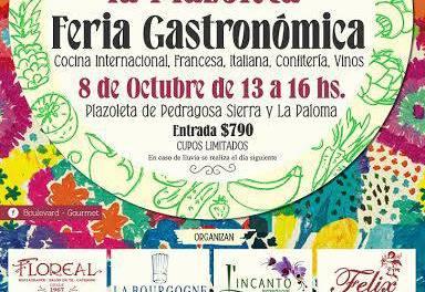 """Boulevard Gourmet """"Fiesta en la Plazoleta"""" gastronomía y música"""
