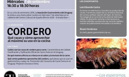 La Asociación Gastronómica del Uruguay te propone rendir homenaje al cordero