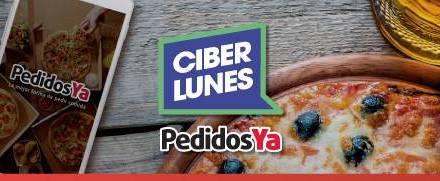 ¡CiberLunes con descuentos gastronómicos en PedidosYa!