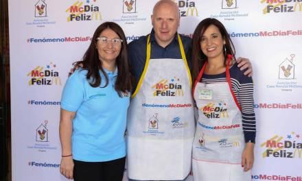 McDonald's realizó una nueva edición de su jornada solidaria McDía Feliz