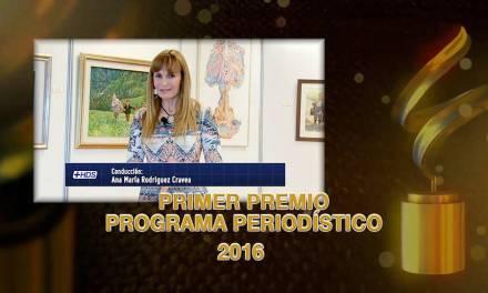 Premios CUTA: HABLEMOS DE SALUD fue Galardonado como MEJOR PERIODISTICO 2016