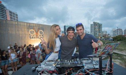 DJ Erok (USA) y el talentoso pianista Matías Banacore pusieron a bailar a todos en OVO Beach
