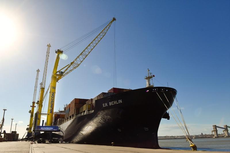 Montecon invierte en mejorar la competitividad del puerto de Montevideo