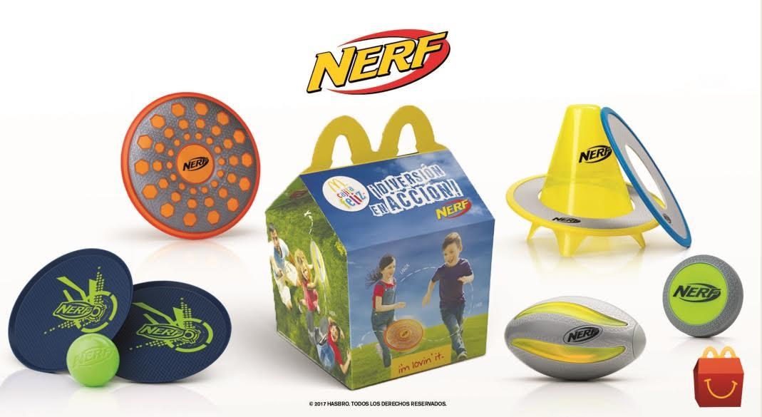 La Cajita Feliz invita a poner la diversión en acción con NERF