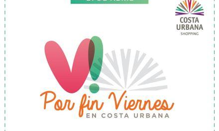 "Vuelve la jornada de descuentos ""Por fin Viernes"" de Costa Urbana Shopping"