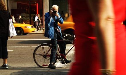 Marcel Calzados emula los pasos de Bill Cunningham en Nueva York