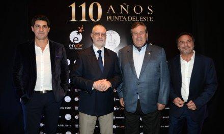 Exclusiva cena en Enjoy Punta del Este coronó el 110° aniversario del balneario