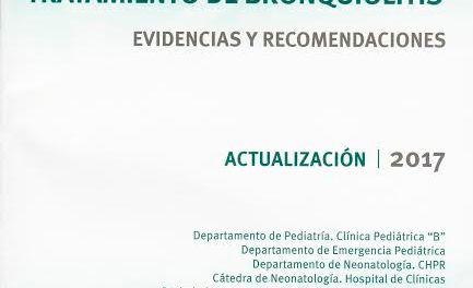 Médicos uruguayos diseñan una guía nacional para diagnosticar y tratar la bronquiolitis