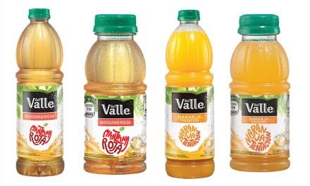Jugos Del Valle estrena fórmula y lanza un novedoso empaque en botellas PET