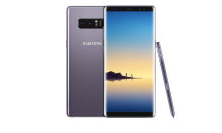 Un nuevo nivel de Note, Samsung sorprende con el lanzamiento del Galaxy Note8