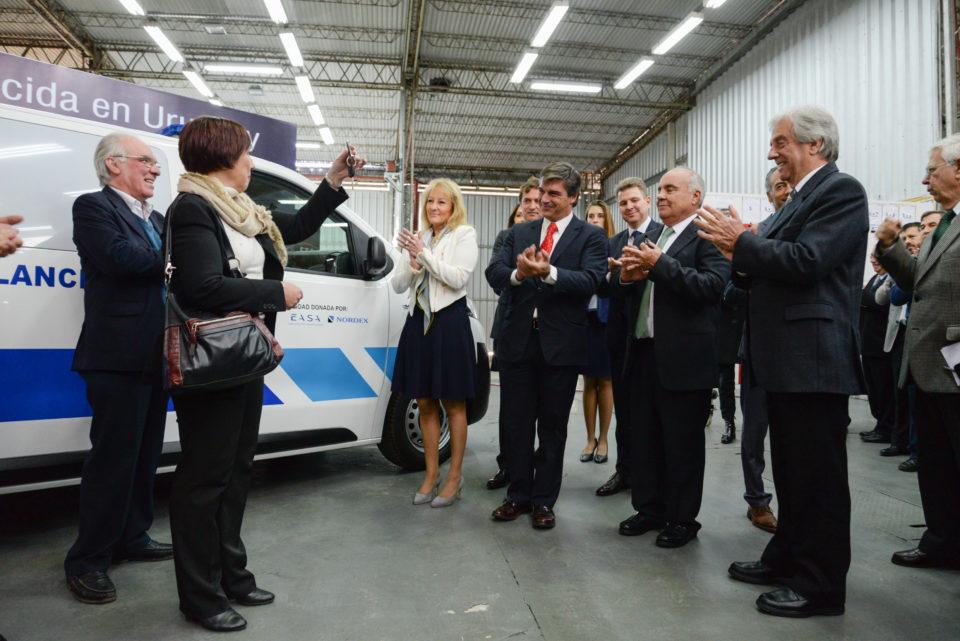 Grupo PSA, EASA y Nordex S.A. presentaron planta de ensamblaje de CITROËN JUMPY y PEUGEOT EXPERT