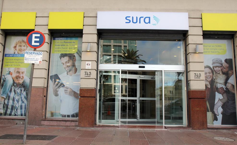SURA ofrece sus servicios de atención al público en pleno centro de Montevideo