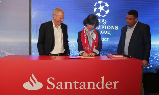 Santander será patrocinador de la UEFA Champions League desde la temporada 2018/2019