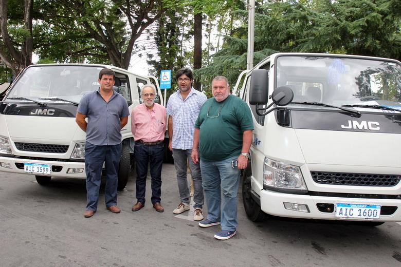 Intendencia de Canelones incorpora camiones JMC para potenciar su gestión ambiental