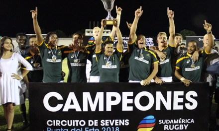 La Copa de Oro Renault del Seven de Punta del Este quedó en manos de Sudáfrica