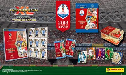 Panini lanza en Uruguay la Colección Oficial de Tarjetas de la Copa Mundial de la FIFA 2018™