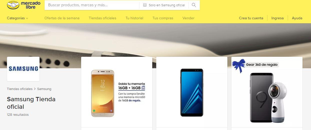 Mercado Libre lanzó en exclusiva la venta de los nuevos modelos de celulares Samsung J4, J6 y A6+
