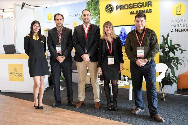 Prosegur presentó sus innovadoras soluciones de seguridad durante el mayor evento de Real Estate de Uruguay