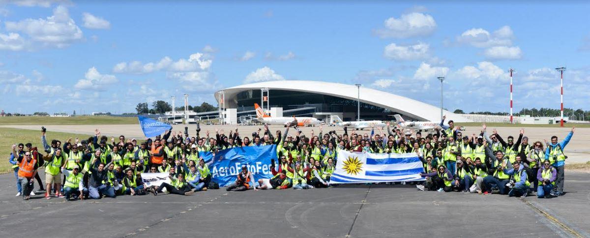 Nueva edición del AeroFotoFest en el Aeropuerto de Carrasco con el apoyo de Volemos