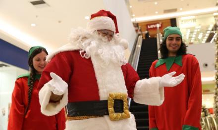 La Navidad llega a Costa Urbana Shopping con El Carrusel de Papá Noel