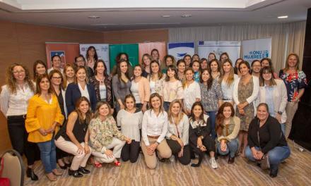 OMEU premió los proyectos más destacados del segundo semestre de Más Emprendedoras