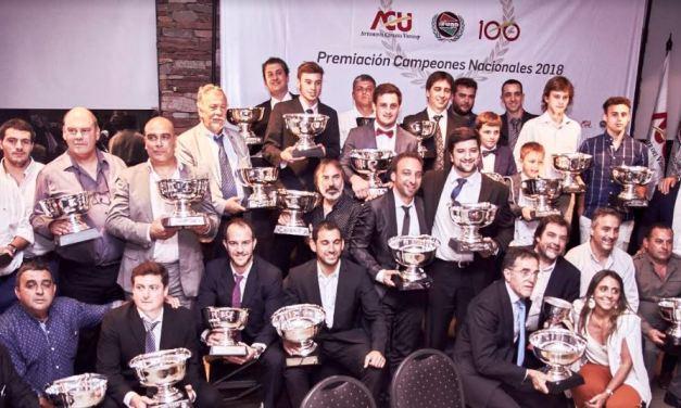 Campeones nacionales de automovilismo del 2018 recibieron sus premios