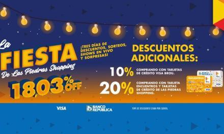 """""""La Fiesta"""" vuelve a Las Piedras Shoppingcon descuentos y entretenimientos"""