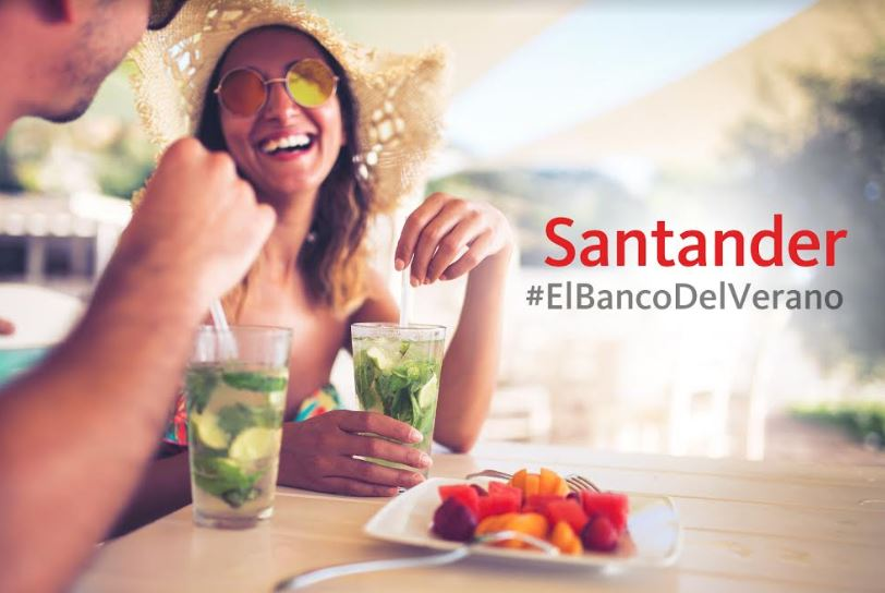 Santander, el Banco del Verano, ofrece una experiencia única a sus clientes