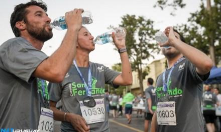 Miles de corredores se hidrataron con Vitale en la 45° Corrida Internacional de San Fernando