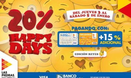 Las Piedras Shopping inicia el año con Happy Days especial de Reyes