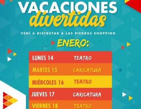 Las Piedras Shopping invita a disfrutar el verano con divertidas actividades