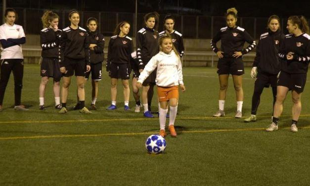 Mahia, la niña uruguaya que cumple su sueño en Madrid con el apoyo de Banco Santander