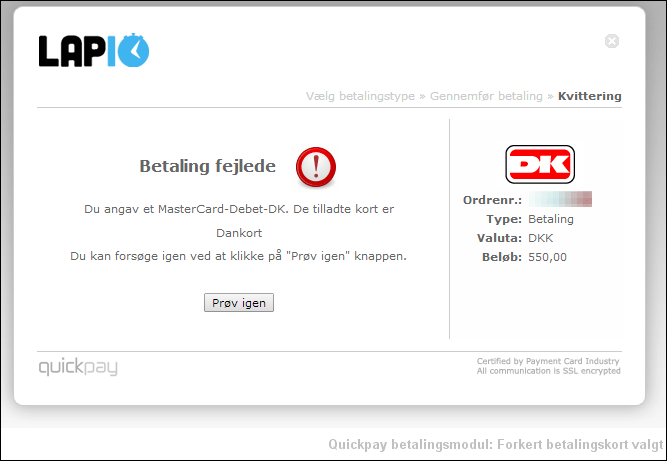 quickpay_fail