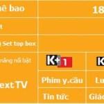 Gói cước Basic K+ Next TV Viettel