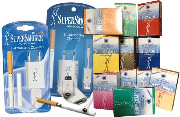 E-Zigarette Supersmoker Produkte
