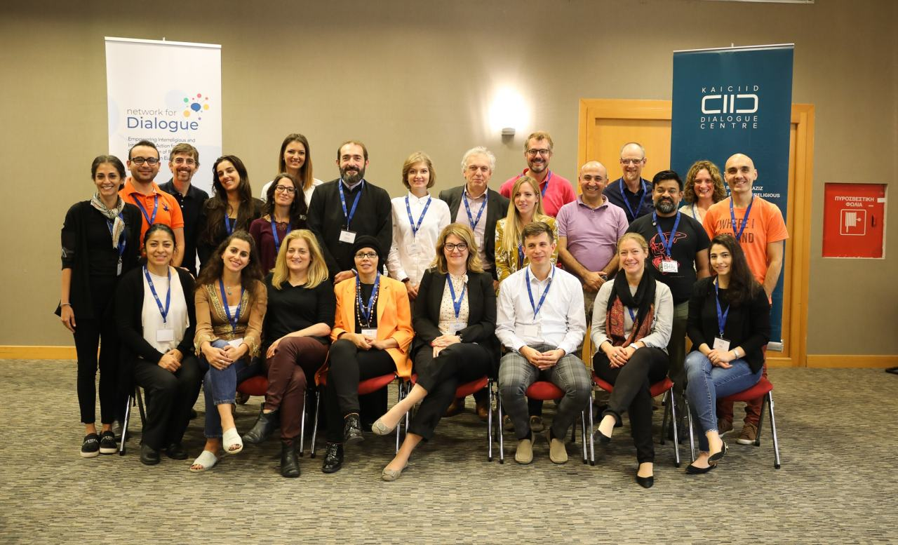 Participants of the 3rd Network for Dialogue Meeting gathered in Athens, Greece - October 2019