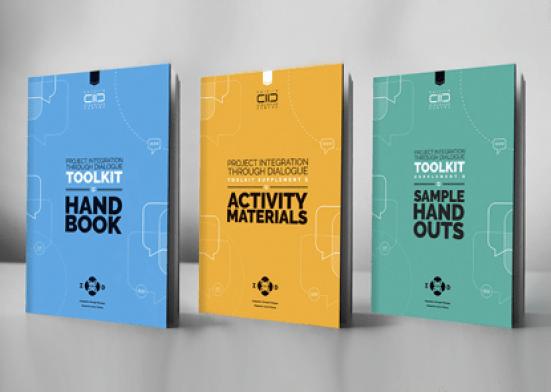 integration through dialogue toolkit - 3 books