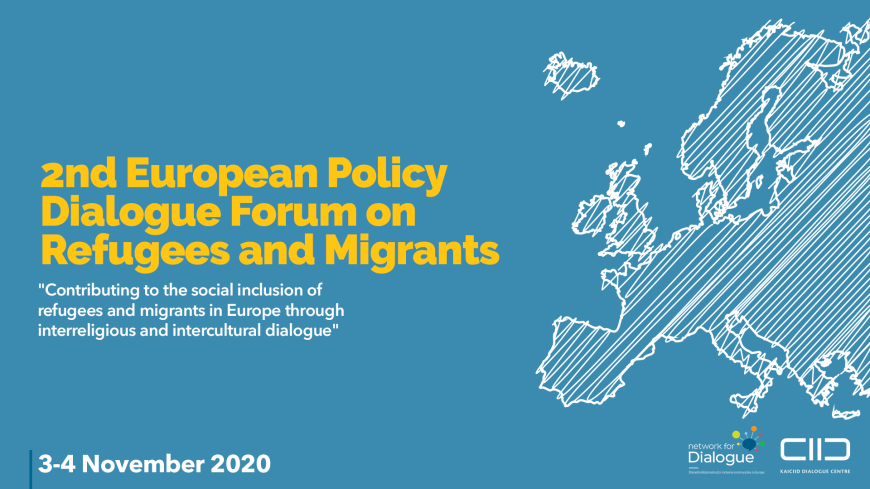 2nd european policy dialogue forum on refugees and migrants