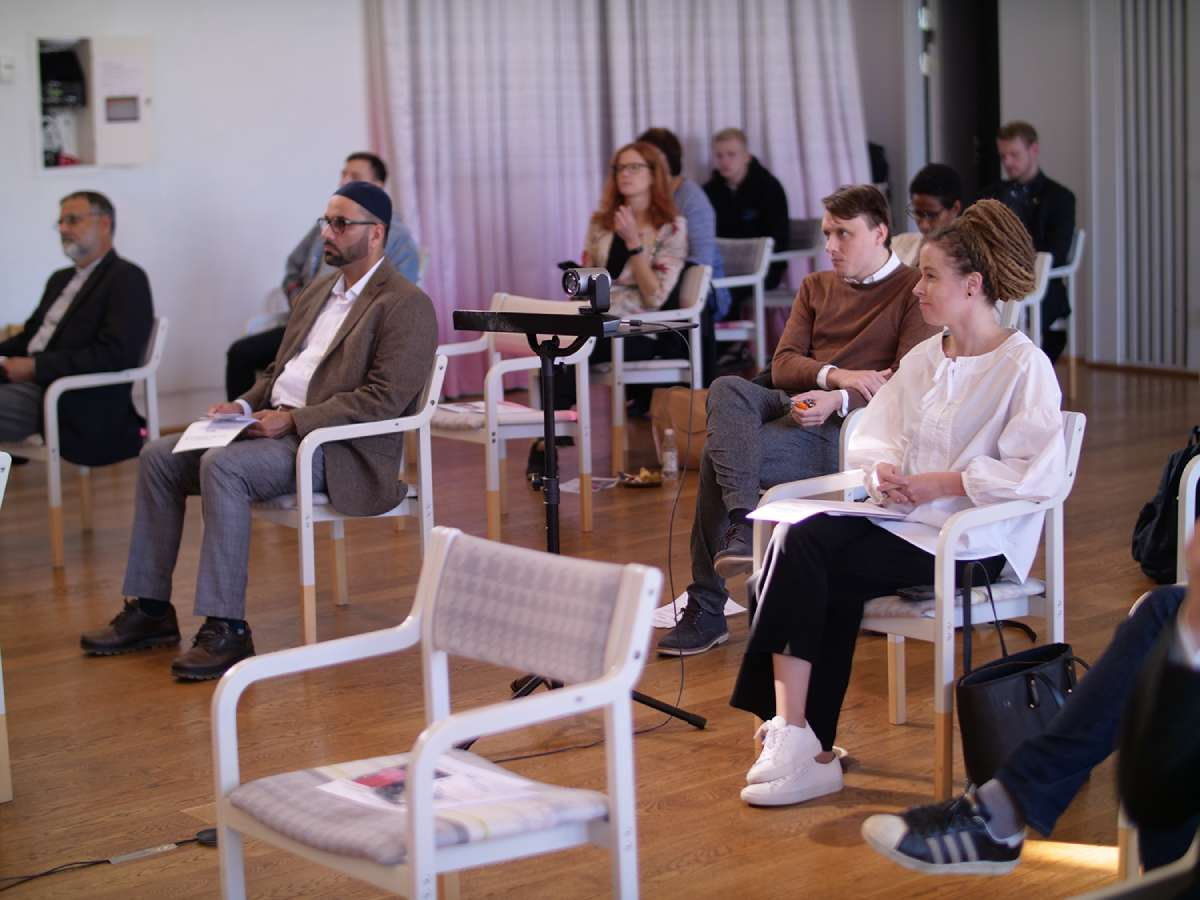 People from different nations, cultures and religious backgrounds come together in God´s House in Fisksätra, Stockholm