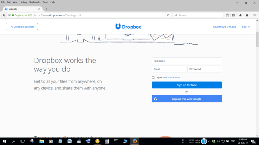 Dropbox is a leader in file hosting