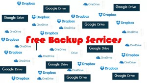 Free Backup Services