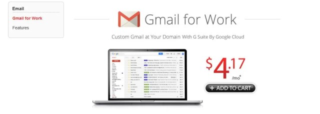 Domain.com Offers Gmail for work