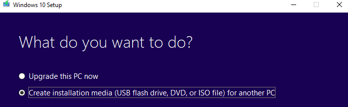 How to upgrade your computer to Windows 10 1803 via USB