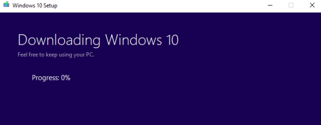 How to upgrade your computer to Windows 10 1803 via USB onto a computer