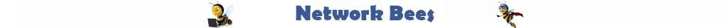 Network Bees Logo