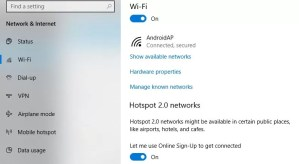How to Set a Metered Network in Windows 10