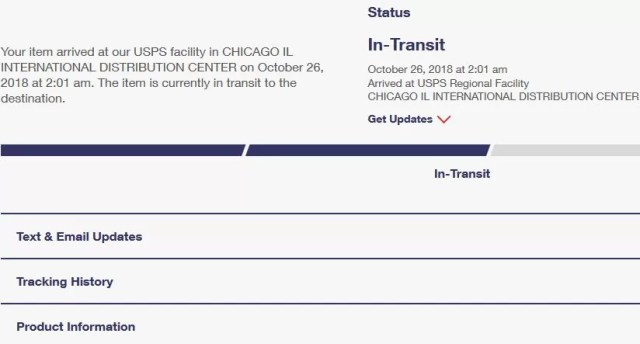 how to track USPS shipment